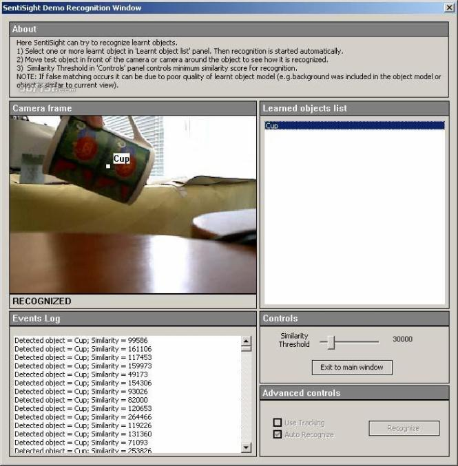 SentiSight algorithm demo (for Windows) Screenshot 2