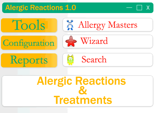 Alergic Reactions Screenshot
