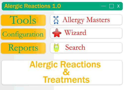Alergic Reactions Screenshot 1