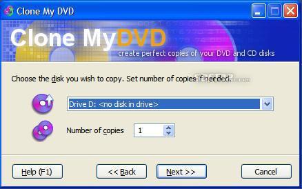 Clone My DVD Screenshot 2
