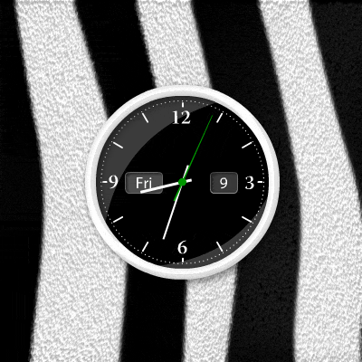 FlashTECH Desktop Clock Screenshot