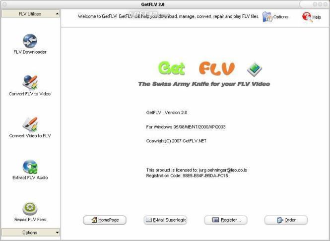 GetFLV Golden Version Screenshot 3