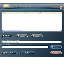 Power PSP/MP4 Video Converter Screenshot