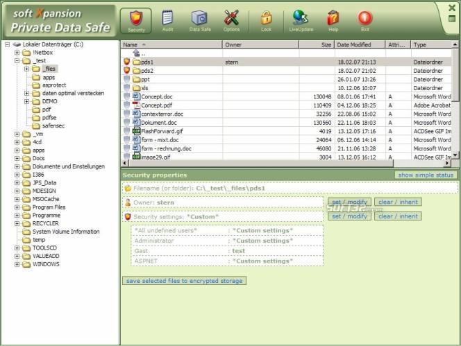 Private Data Safe Screenshot 2
