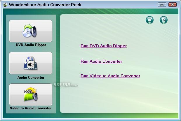 Wondershare Audio Converter Pack Screenshot 1