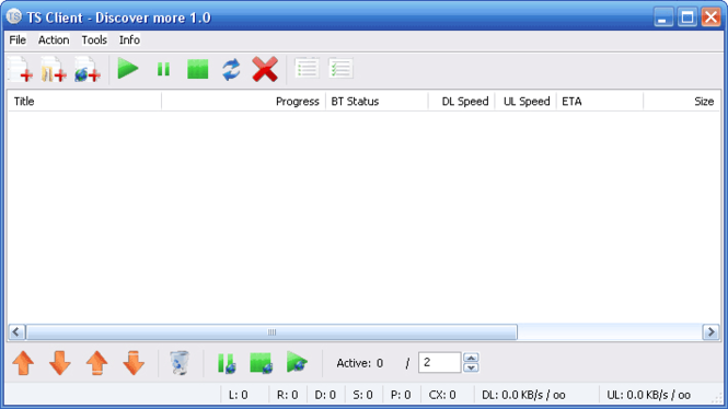 Torrent Searcher Client Screenshot 1