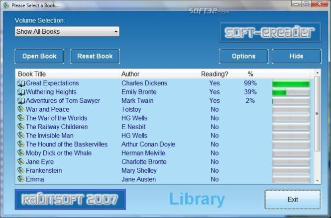 Soft-eReader Screenshot 2