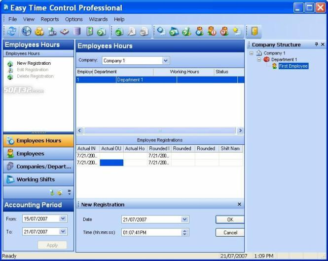 Easy Time Control Express Screenshot 2