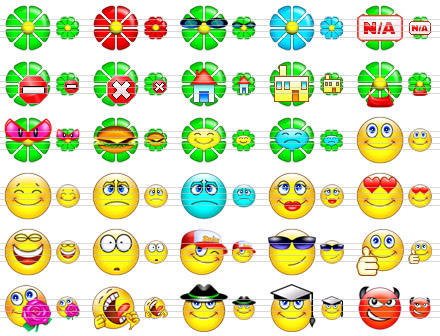 Smile Icon Set Screenshot 1