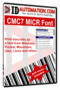 IDAutomation MICR CMC-7 Fonts 1