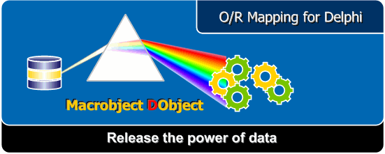 Macrobject DObject O/R Mapping Suite Screenshot