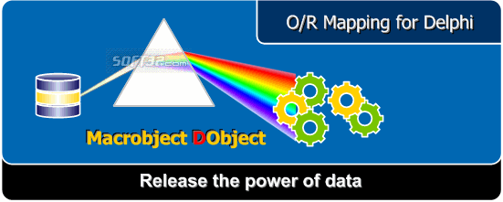 Macrobject DObject O/R Mapping Suite Screenshot 3
