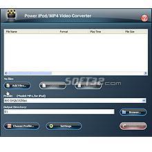 Power iPod/MP4 Video Converter Screenshot 3