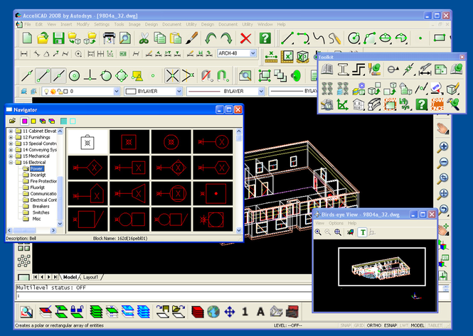 AcceliCAD 2010 Screenshot