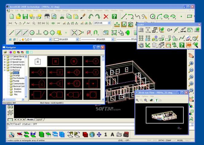 AcceliCAD 2010 Screenshot 2