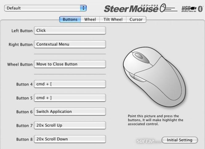 SteerMouse Screenshot