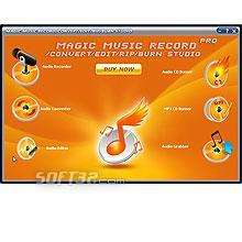 Magic Music Record Convert Edit Rip Burn Studio Pro Screenshot 2