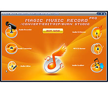 Magic Music Record Convert Edit Rip Burn Studio Pro Screenshot