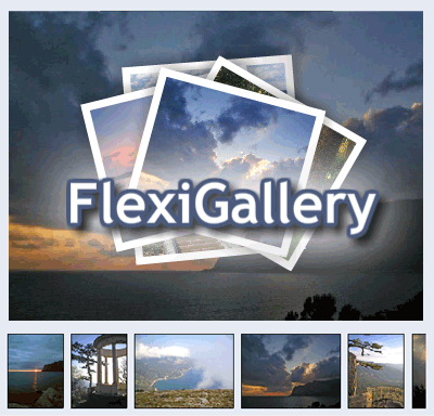 FlexiGallery: XML Flash Image Gallery Screenshot