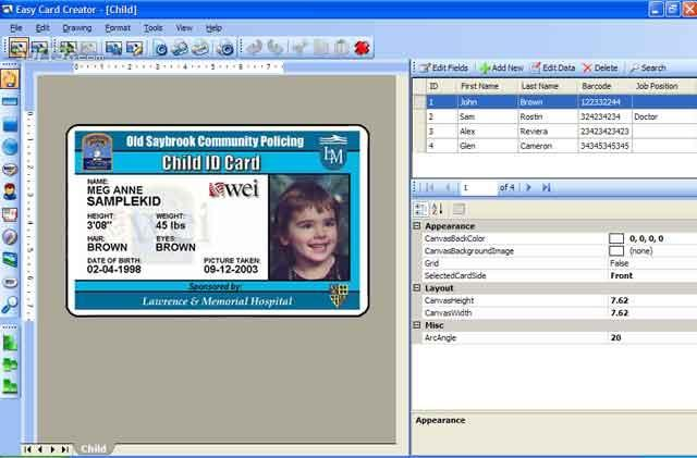 Easy Card Creator Professional Screenshot 2