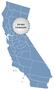 Locator Map of California 1