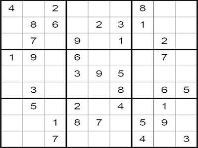 100 Sudoku Puzzles Screenshot