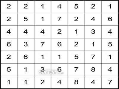 100 Hitori Puzzles Screenshot 1