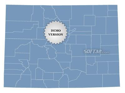 Locator Map of Colorado Screenshot 2