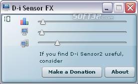D-i sensor Screenshot