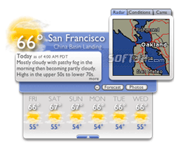 Weather Underground Widget Screenshot 1