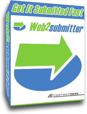 Web2Submitter - Web2.0 Auto Submission Screenshot