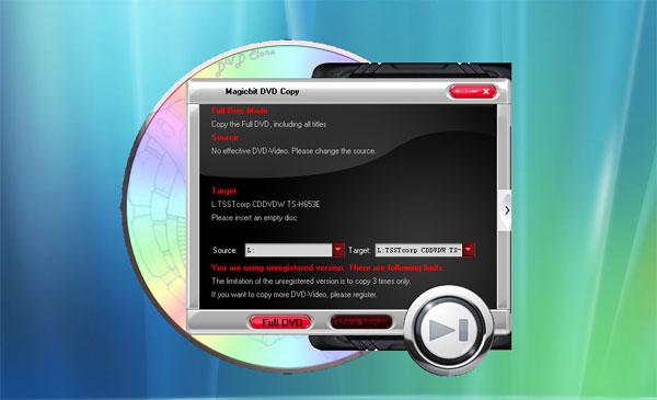 Magicbit DVD Copy Screenshot