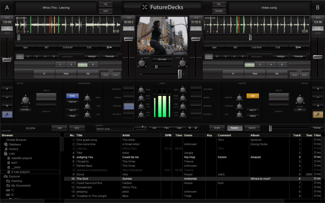 FutureDecks DJ pro Screenshot 2