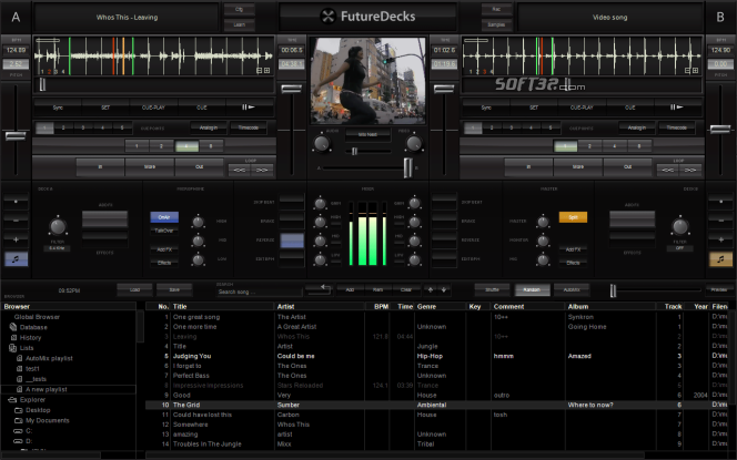 FutureDecks DJ pro Screenshot 4