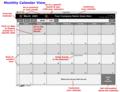 FileMaker Database Calendar 1