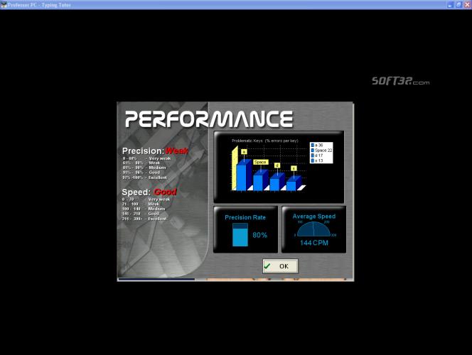 Professor PC - Typing Tutor Screenshot 3