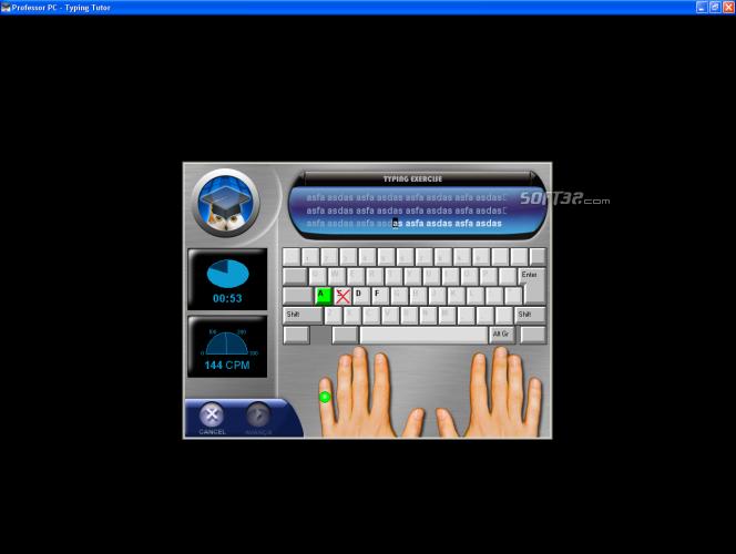 Professor PC - Typing Tutor Screenshot 4