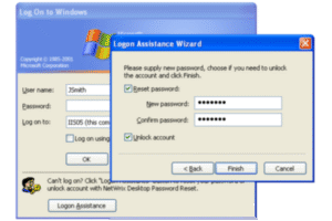 Desktop Password Reset Screenshot 2