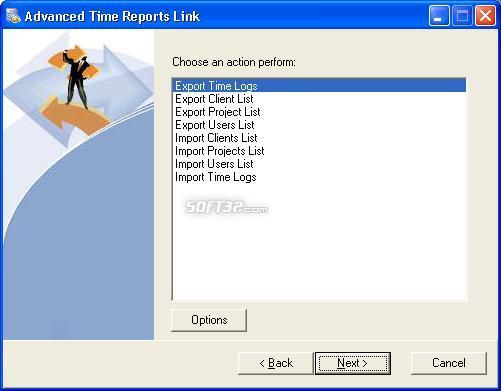 Advanced Time Reports Link Screenshot 2