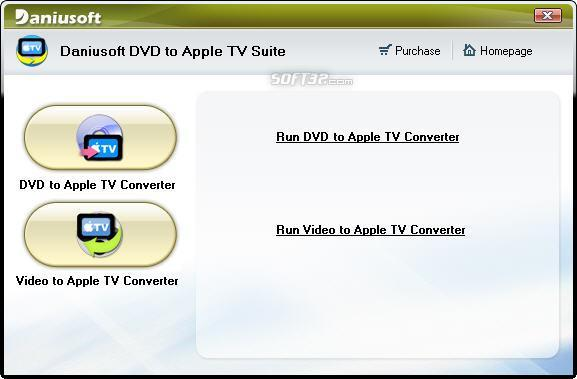 Daniusoft DVD to Apple TV Suite Screenshot 2