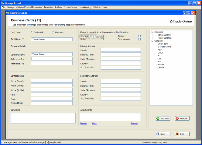 Manage Invest Screenshot 3