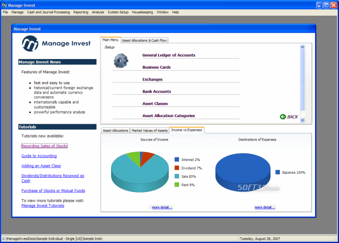 Manage Invest Screenshot 1
