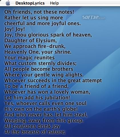 DesktopLyrics Screenshot 2