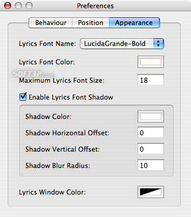 DesktopLyrics Screenshot 5