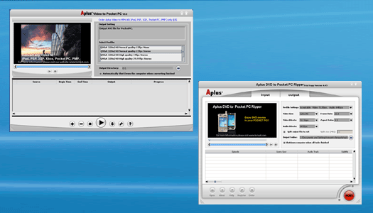 Aplus DVD Video to PPC Ripper Screenshot