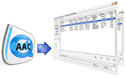 Magic AAC to MP3 Converter Screenshot 1