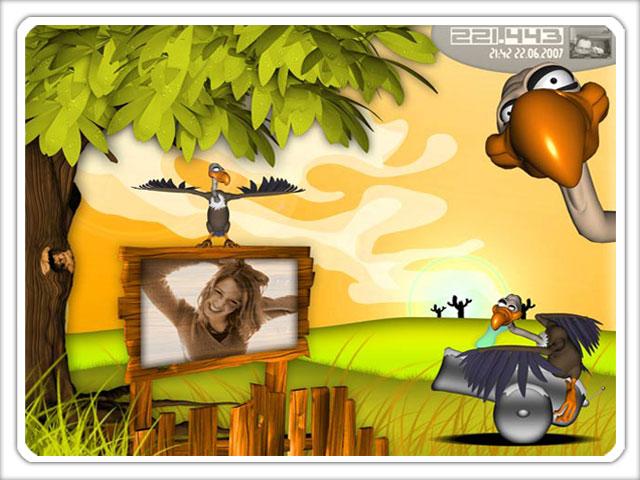The Vulture Strike (WebCam Game) Screenshot