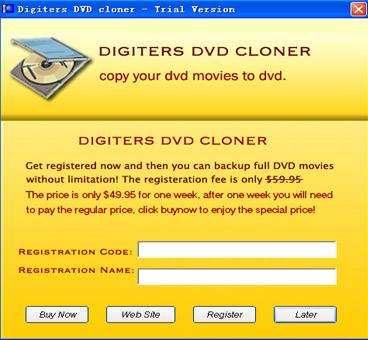 DigiGenius DVD Cloner Screenshot 1