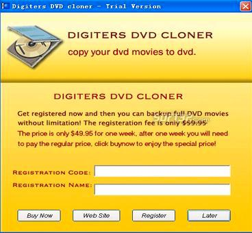 DigiGenius DVD Cloner Screenshot 3