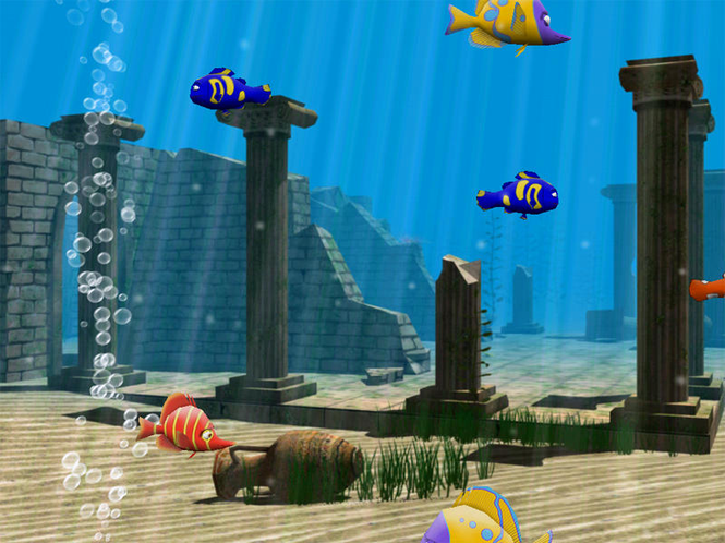 3D Funny Fish Free Screenshot 1